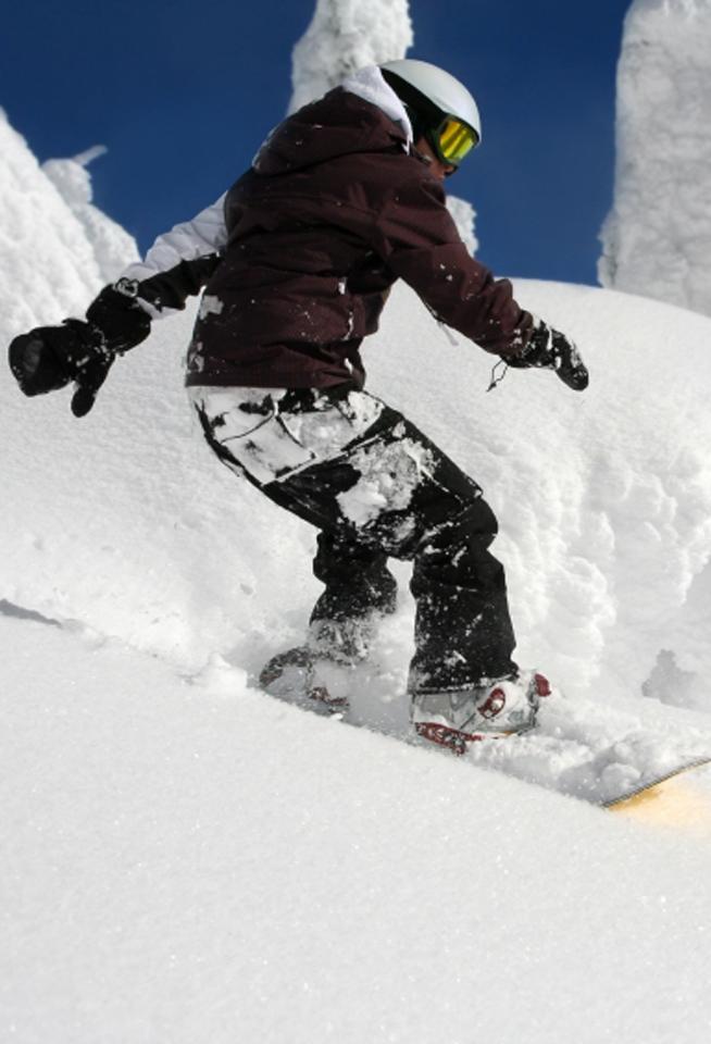 Snowboarding New England Baptist Hospital